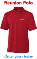 Photo of Reunion 2014 polo shirt